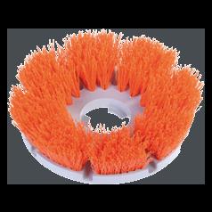Agressive Cleaning Brush (Orange Bristles)