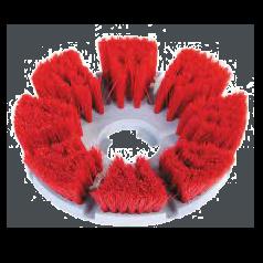 Medium Brush (Red Bristles)
