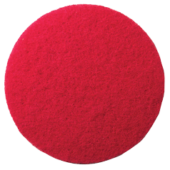 20cm Red Fibre Spray Cleaning Pad (Box of 5)