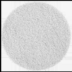 20cm White Fibre Dry Buffing Pad (Box of 5)